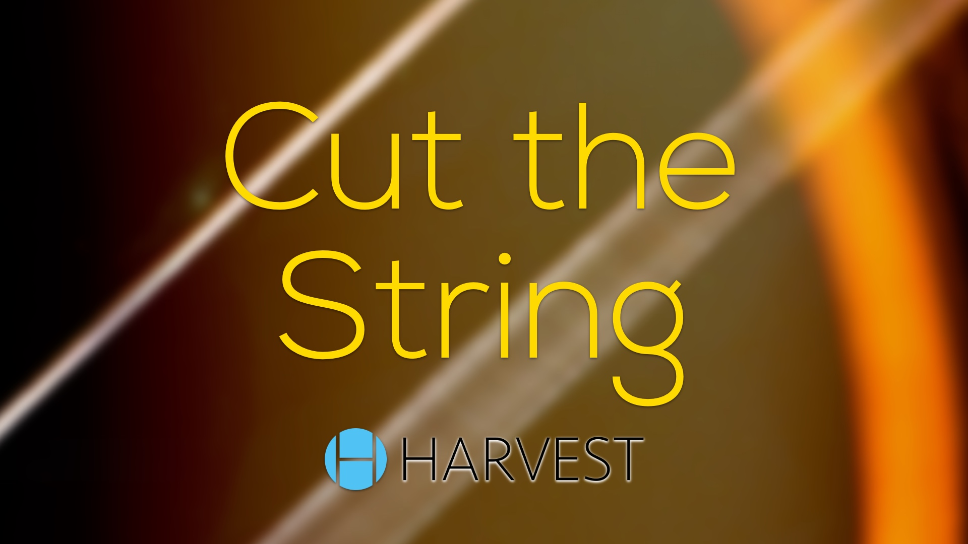 Cut the String